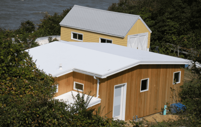 Residential PVC roof