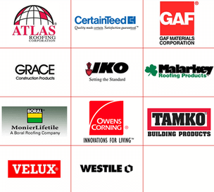 Roof shingle brands
