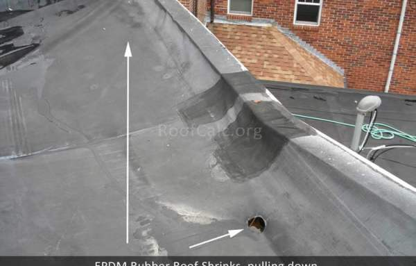 Rubber Roof Shrinking