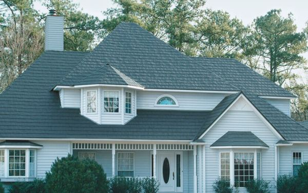 Metal Slate Roof