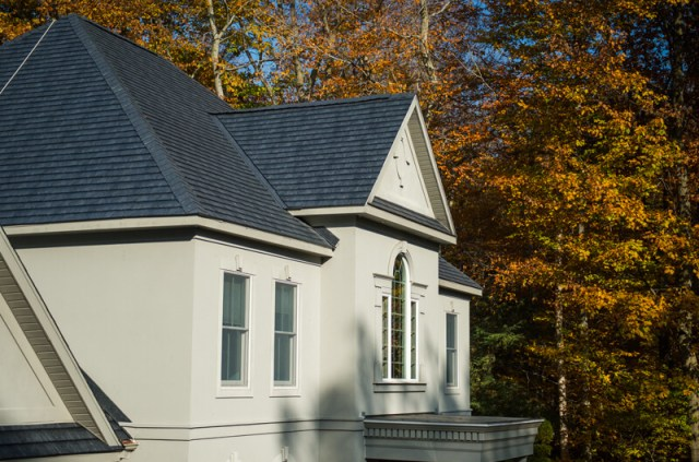 Storm Slate Color  Metal Shingles