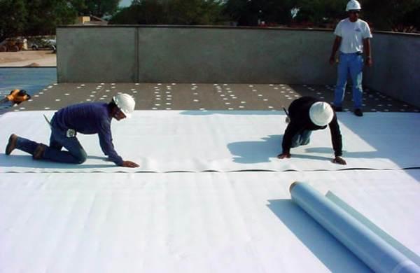 TPO material install