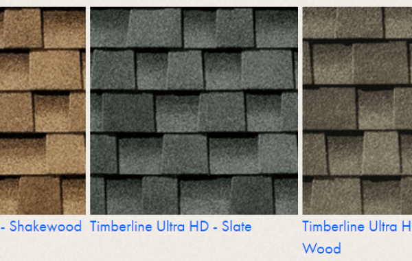 Timberline Color Options