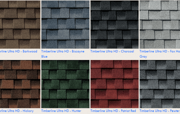 Timberline HD Architectural Shingles Colors