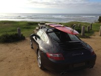 Surfs Up With Some Porsche 997 Roof Racks | Roof Carrier ...