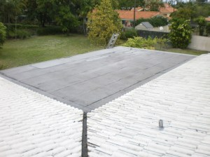 Flat Roof After Cleaning