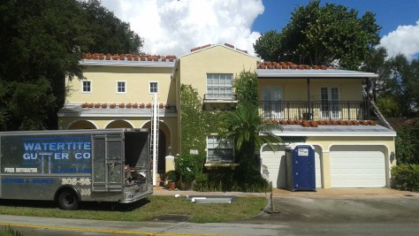 Gutter Install In Coral Gables