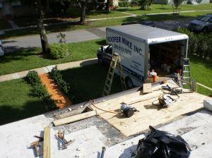 Rotten Wood Replaced - Tile Roof Repair