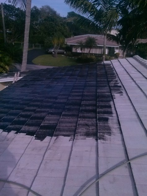 Tile Roof Cleaning in Miami