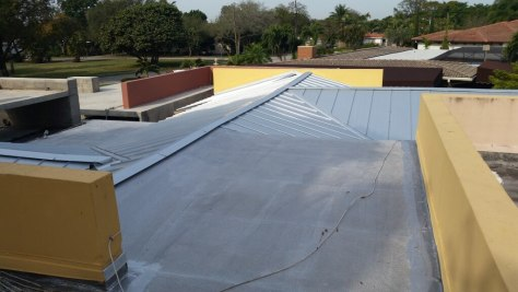 Galvalume Metal Roofs and Flat Roofs