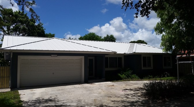Metal Roof Cleaning in Kendall