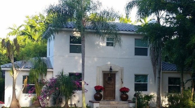 Concrete tile Roof in Miami