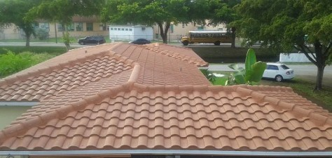 Concrete Tile Roof in Miami Springs