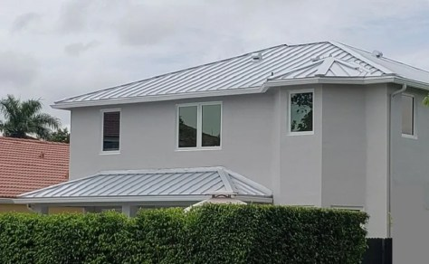 Galvalume Metal Roof In Miami