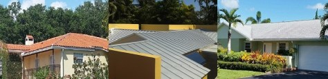 Roofing replacement options in Miami