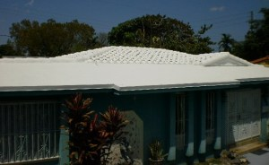 Tile roof and flat roof in Miami Testimonial