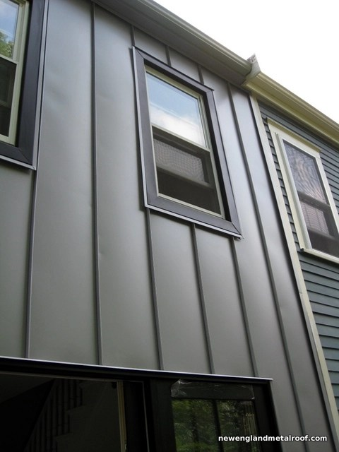 Metal siding cost wall panels metal cladding pros cons for Horizontal metal siding