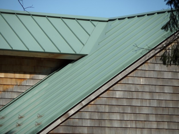 Standing Seam Vertical Panels