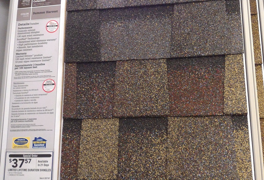 Asphalt Shingles Roofing 3Tab Vs Architectural Shingles 2018