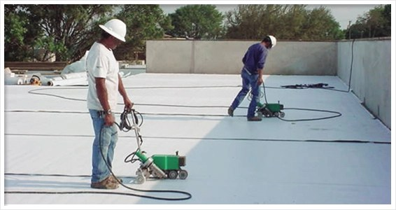 Flat Roof Materials Amp Installation Costs 2019 Pvc Vs Tpo