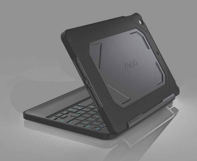 Keyboard Case For Apple Tablets Designed For Rugged