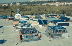 2014 International Solar Decathlon in Versailles, France. PHOTO: SDEurope