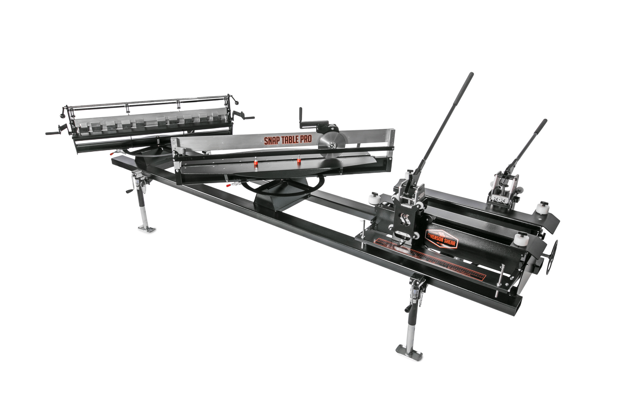 Swenson Shear's SnapTable PRO Is Equipped to Notch, Slit