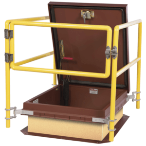 The BILCO Co. has introduced its BIL-Guard 2.0, which, like its predecessor, is a fixed railing system that provides a permanent means of fall protection around roof-hatch openings.