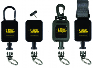 The line of Gear Keeper General Purpose Retractors is a simple and convenient tethering solution that will safely secure a small tool while still having the benefit of extending and retracting the item as needed.