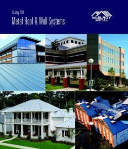 McElroy Metal releases a 36 page product catalog.