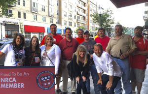 Deer Park Roofing Inc., Cincinnati, celebrated National Roofing Week by taking employees and families to a Cincinnati Reds baseball game, of course.