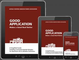 The Asphalt Roofing Manufacturers Association has updated its technical manual <em>Good Application Makes a Good Roof Better – A Simplified Guide</em>.