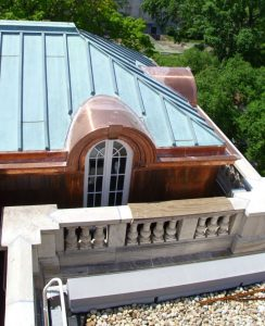 JRWCo reuses old hardware and trim to install the new custom windows.