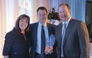 Kirberg Co. receives the 2016 BBB TORCH Award from the Better Business Bureau.