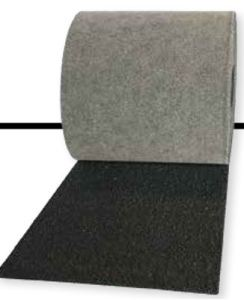 SBS Shingle Starter is a SBS modified starter strip coated on both sides with SBS rubberized asphalt compound and surfaced with black ceramic granules.