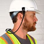 Lanyard Protects Workers, Prevents Falling Hard Hat