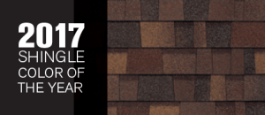Owens Corning announced Sedona Canyon as its 2017 Shingle Color of the Year. A 2018 Shingle Color of the Year will be announced later this year along with inspiring new color pairings.