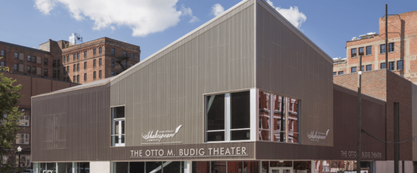 Metal Roof and Wall Panels Capture the Spirit of Shakespearean Theater