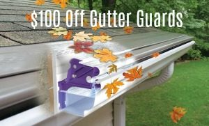 gutter guard discount coupons