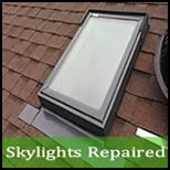 skylight leak repair Gasburg VA