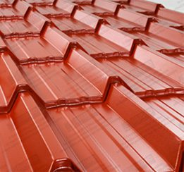 tile effect roofing sheets manufactured to size