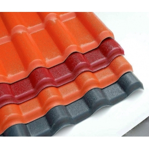 spanish synthetic resin roofing tile plastic pvc roofing sheet