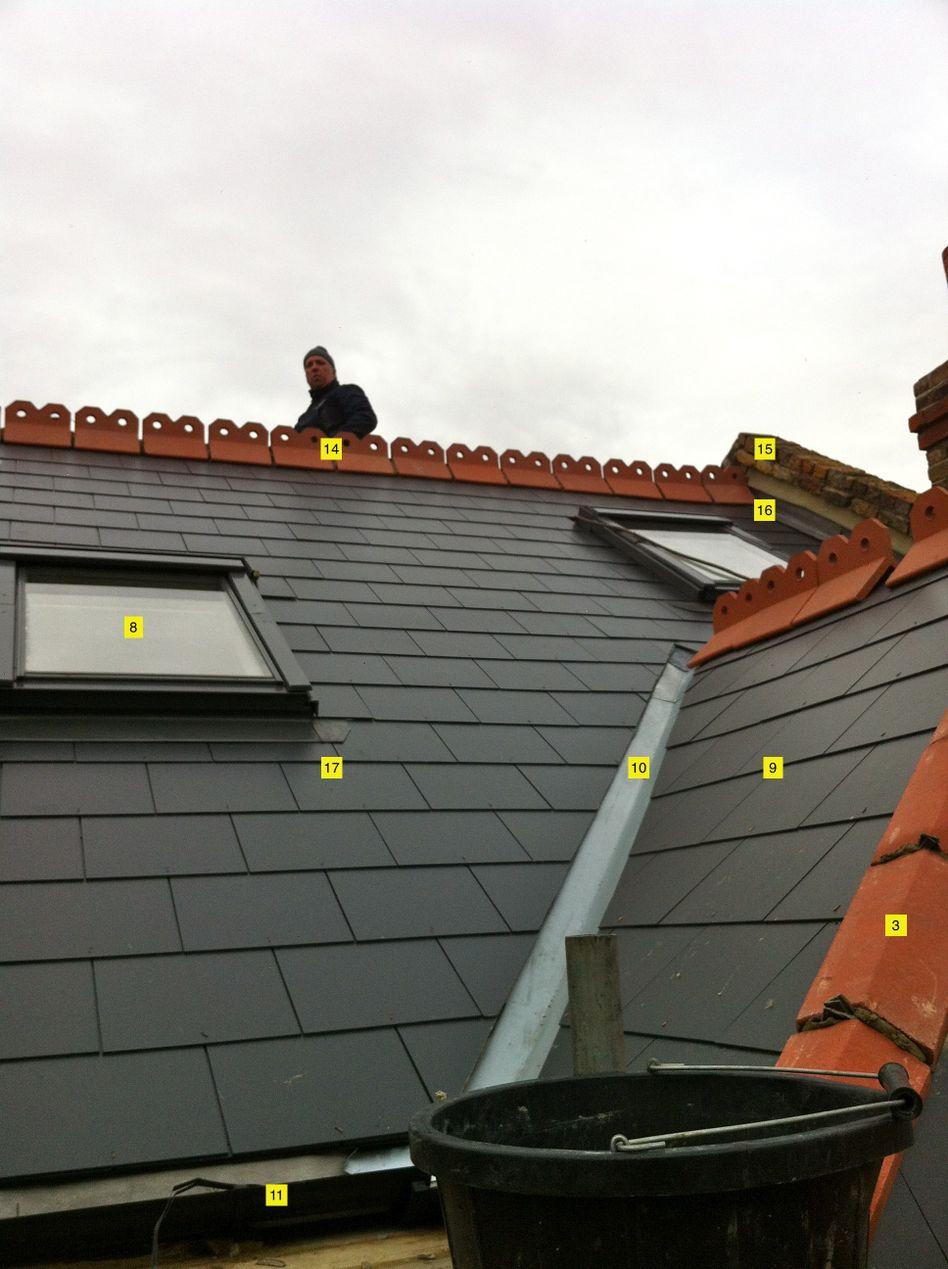hight resolution of roof anatomy