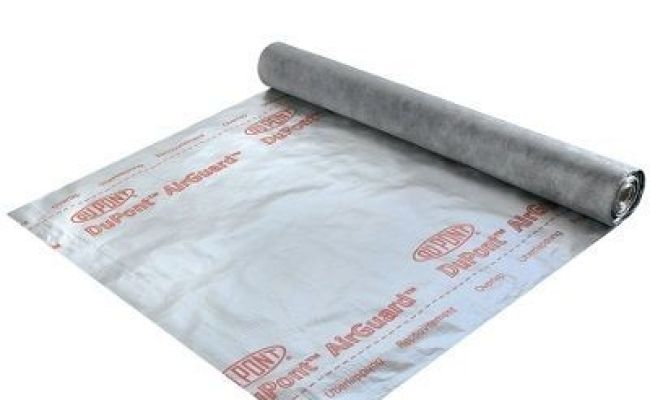 Dupont Airguard Reflective 50m X 1 5m Roll Roofing