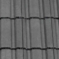 Redland Renown Concrete Profiled Roof Tile Slate Grey ...