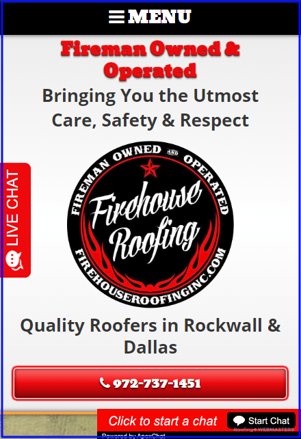 Mobile Design for Roofing Websites