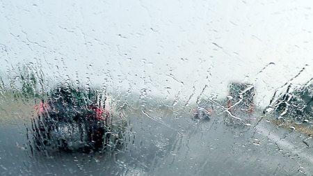 Pouring Heavy Rainstorm