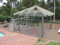 How to Install Outdoor Gazebo Kits & Pergola Roof shingles
