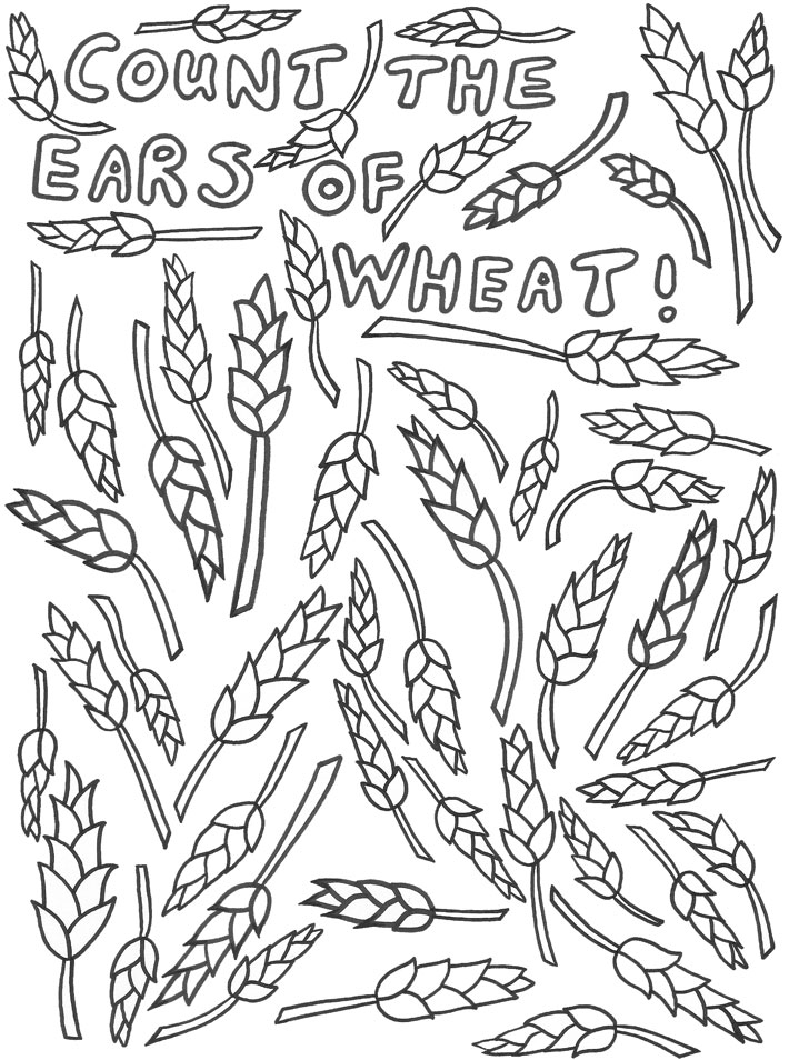 Count the Ears of Wheat