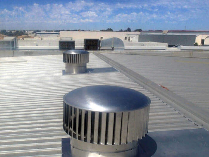 roof extractor fans industrial